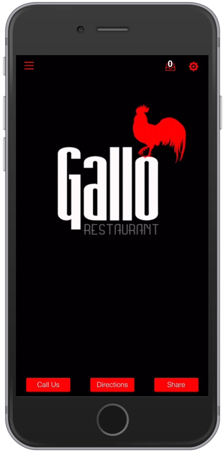 Gallo Restaurant App Image