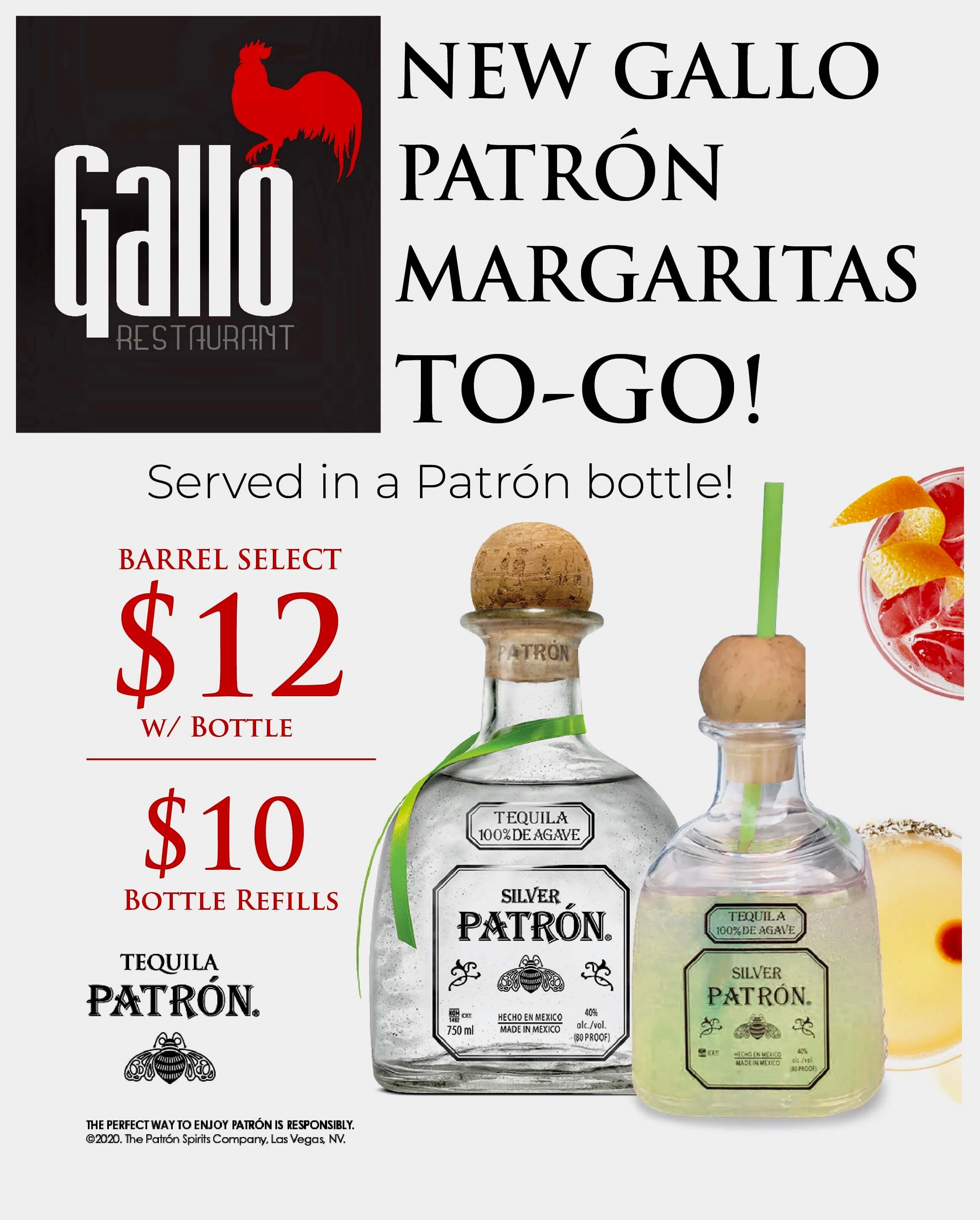 Gallo Restaurant Patchogue Catering Menu