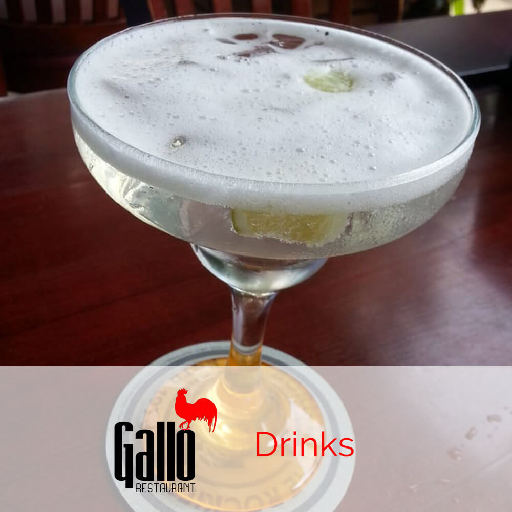 Gallo Restaurant Patchogue Drink Menu